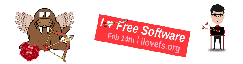 I ♥ Free Software from TDF